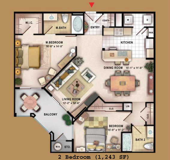 Floor Plans Beta Manhattan Las Vegas Condos - Las vegas floor plans